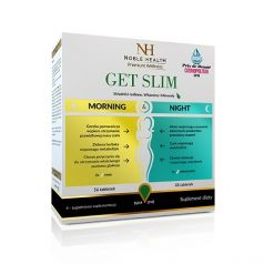NOBLE HEALTH GET SLIM MORNING & NIGHT 84 TABLETKI
